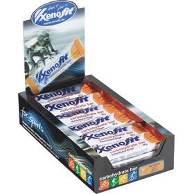 Xenofit Carbohydrate Sportvoeding met basisprijs abrikoos 24 x 68 g oranje/zilver